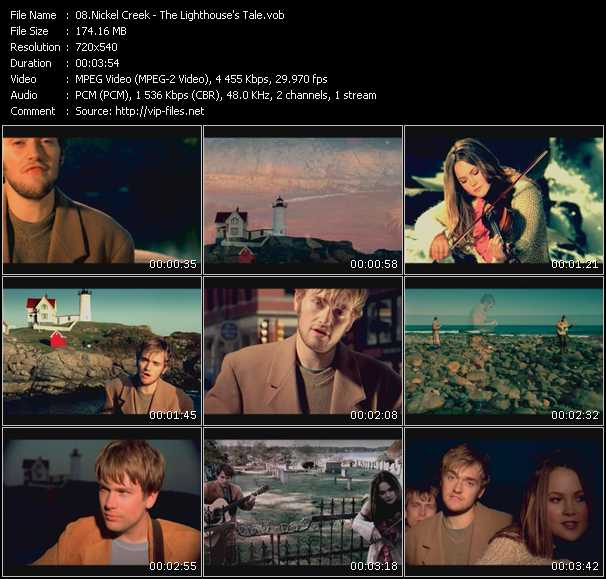Nickel Creek video screenshot