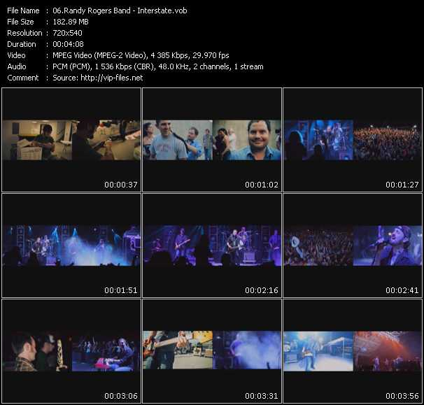 Randy Rogers Band video screenshot