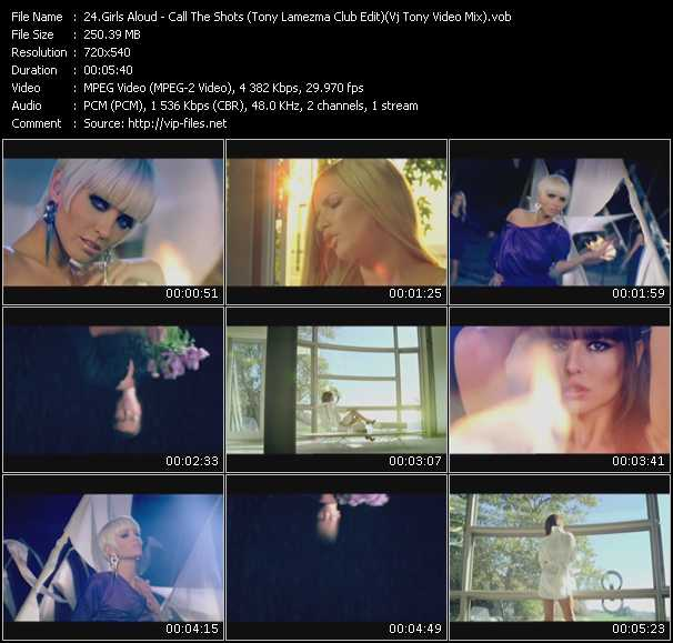 video Call The Shots (Tony Lamezma Club Edit) (Vj Tony Video Mix) screen