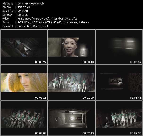 Minuit video screenshot