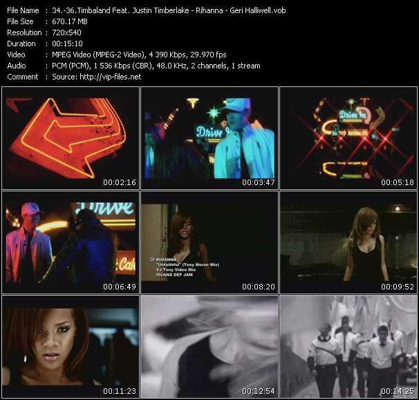 video Carry Out (Julien Creance Club Mix) (DJ Rage Video Edit) - Unfaithful (Tony Moran Mix) (VJ Tony Video Mix) - Look At Me (Mark's Big Vocal Mix Surgery Edit) (VJ Tony Video Mix) screen