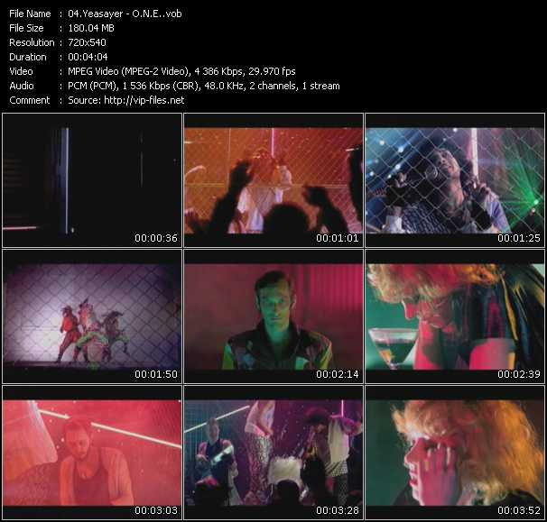 Yeasayer video screenshot