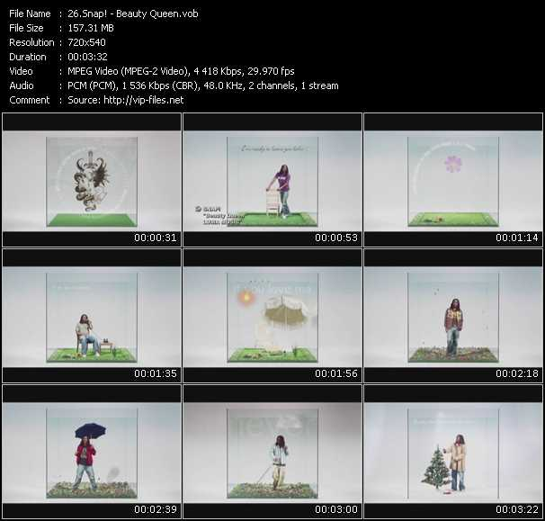video Beauty Queen screen