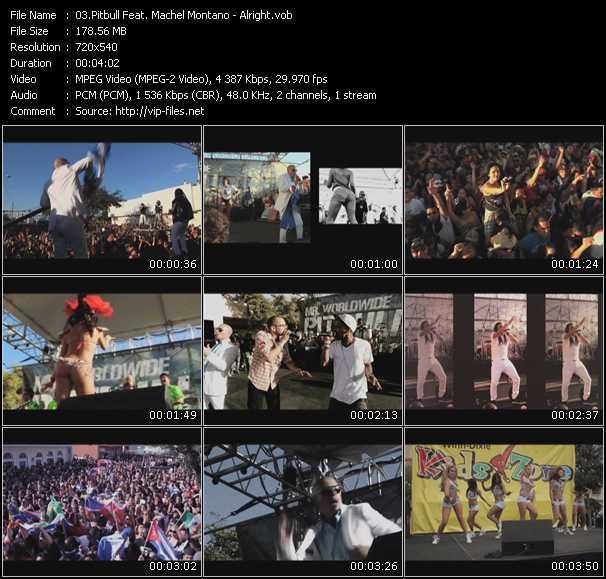 Pitbull Feat. Machel Montano video screenshot