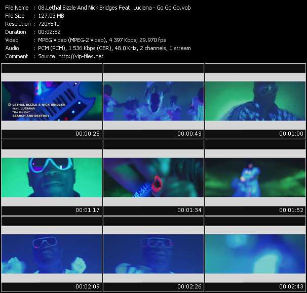 Lethal Bizzle And Nick Bridges Feat. Luciana video screenshot