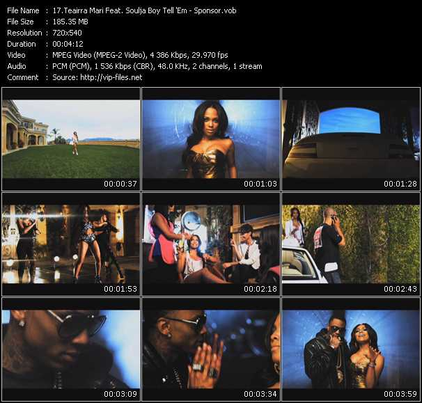 Teairra Mari Feat. Soulja Boy Tell 'Em video screenshot