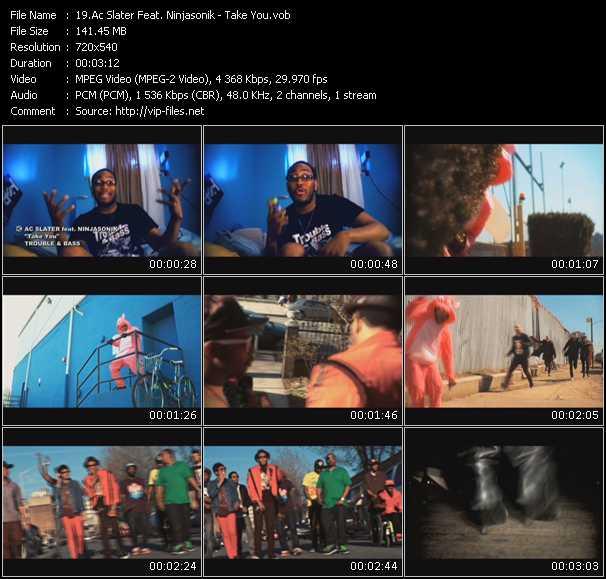 Ac Slater Feat. Ninjasonik video screenshot