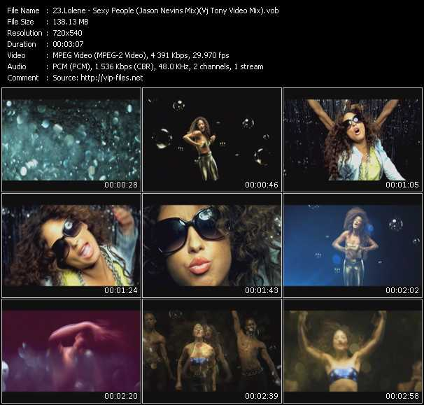 Lolene video screenshot