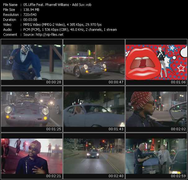 Uffie Feat. Pharrell Williams video screenshot