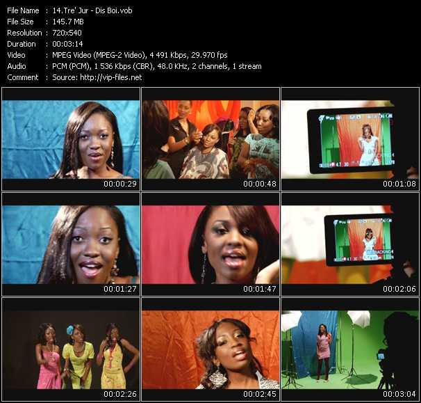 Tre' Jur video screenshot
