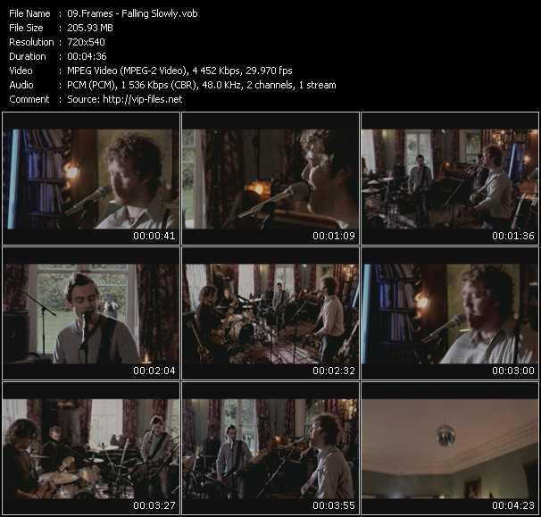 Frames video screenshot