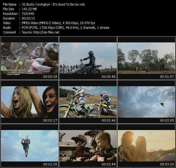 Bucky Covington video screenshot