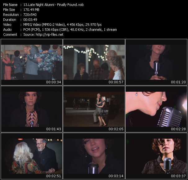 Late Night Alumni video screenshot