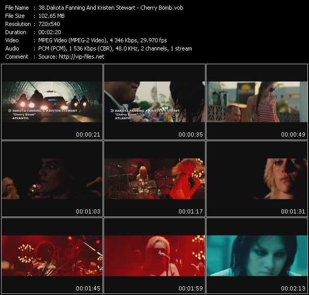 Dakota Fanning And Kristen Stewart video screenshot