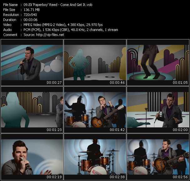 Eli Paperboy Reed video screenshot