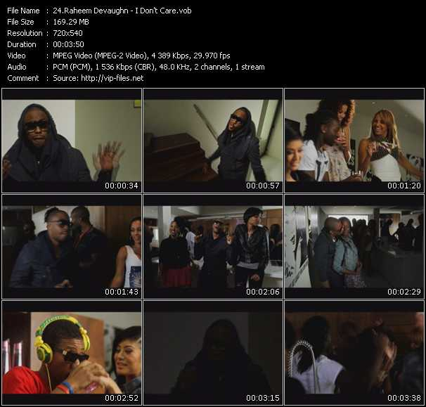 Raheem Devaughn video screenshot