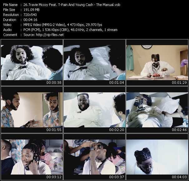 Travis McCoy Feat. T-Pain And Young Cash video screenshot