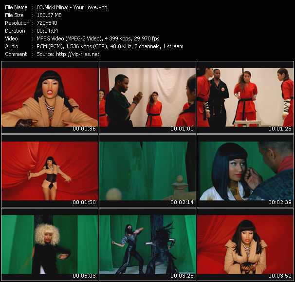 video Your Love screen