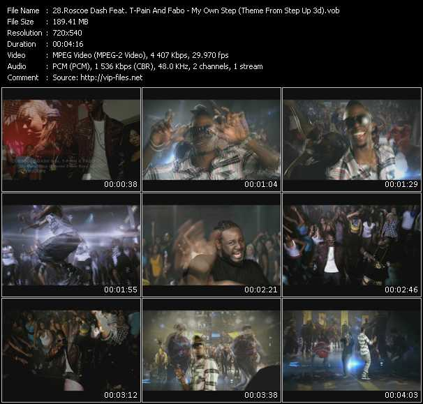 Roscoe Dash Feat. T-Pain And Fabo video screenshot