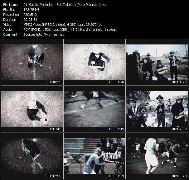 Maldita Vecindad video screenshot