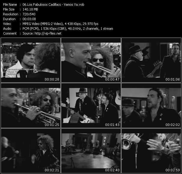 Los Fabulosos Cadillacs video screenshot