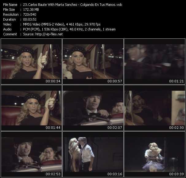 Carlos Baute With Marta Sanchez video screenshot