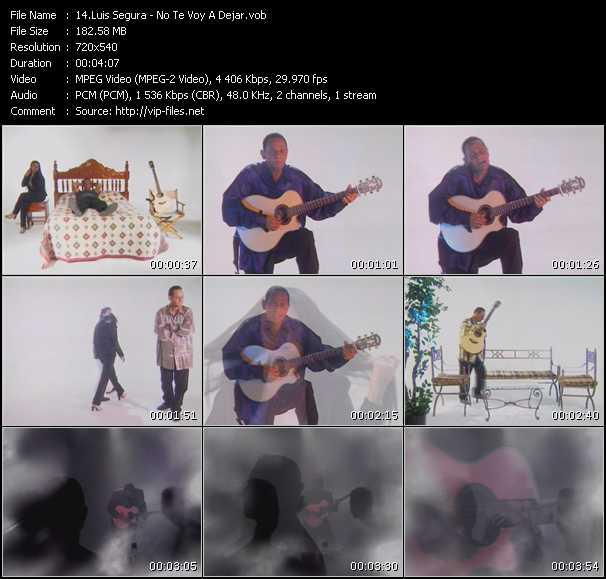 Luis Segura video screenshot