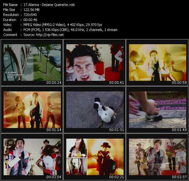 Alarma video screenshot