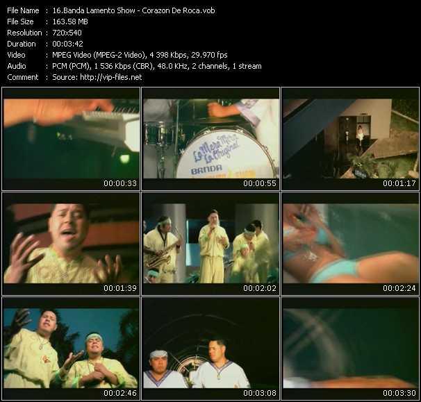Banda Lamento Show video screenshot