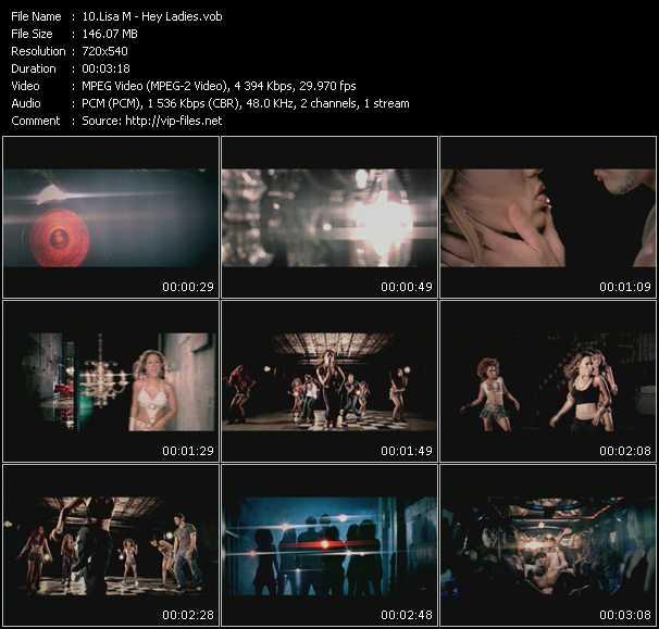 Lisa M video screenshot