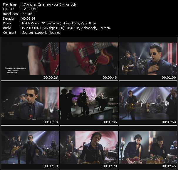 Andres Calamaro video screenshot