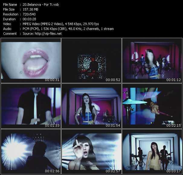 video Por Ti screen