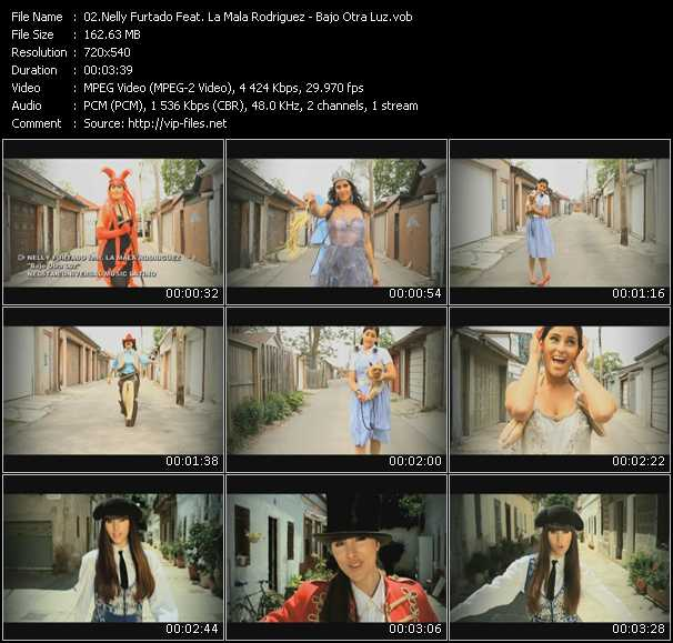 Nelly Furtado Feat. La Mala Rodriguez video screenshot