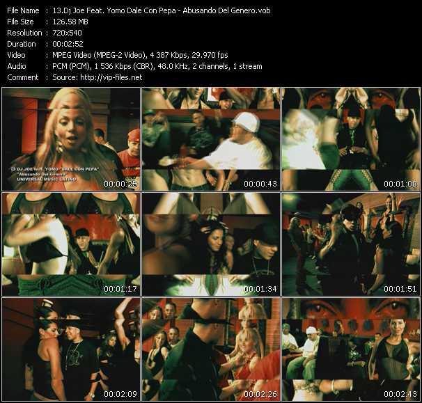 Dj Joe Feat. Yomo Dale Con Pepa video screenshot