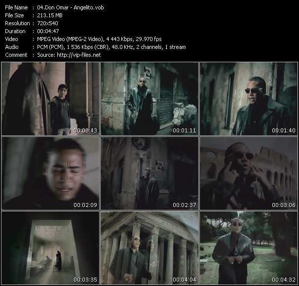 video Angelito screen