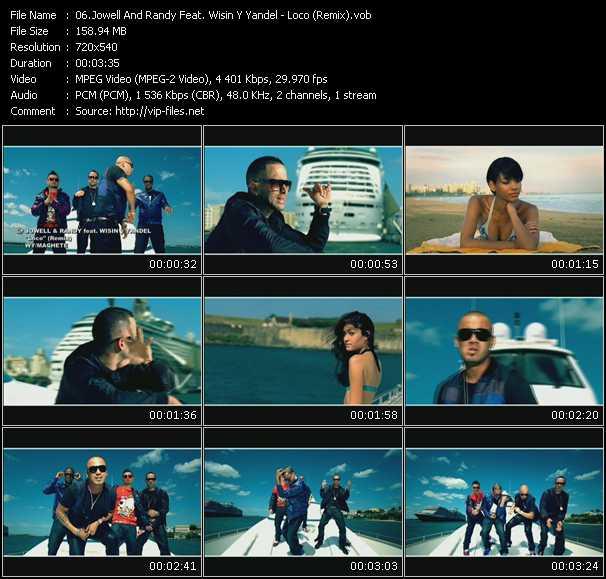 Jowell And Randy Feat. Wisin And Yandel video screenshot
