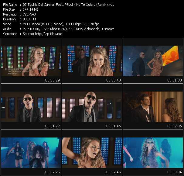 Sophia Del Carmen Feat. Pitbull video screenshot