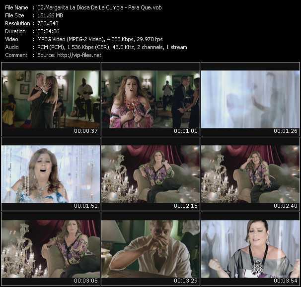 Margarita La Diosa De La Cumbia video screenshot