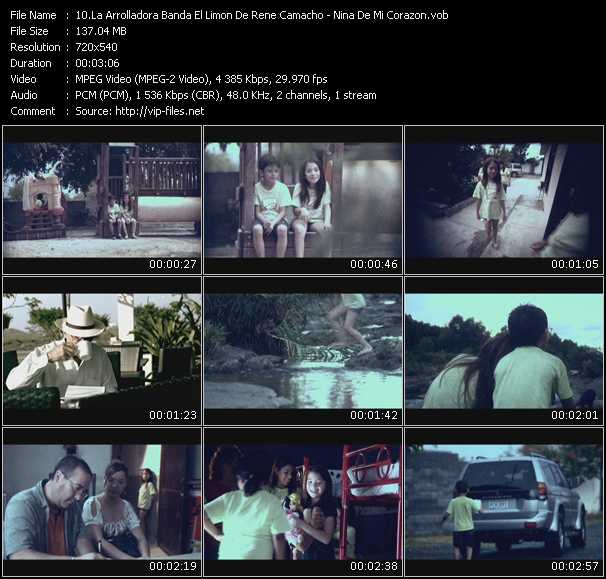 La Arrolladora Banda El Limon De Rene Camacho video screenshot