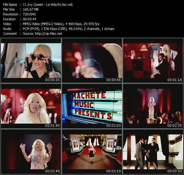 Ivy Queen video screenshot