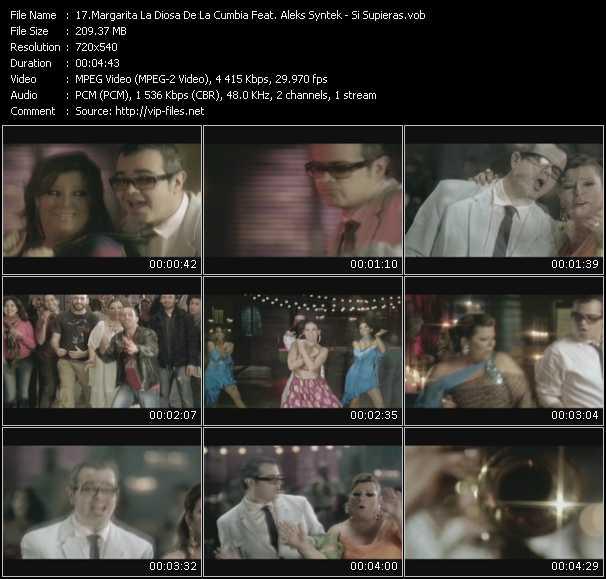 Margarita La Diosa De La Cumbia Feat. Aleks Syntek video screenshot