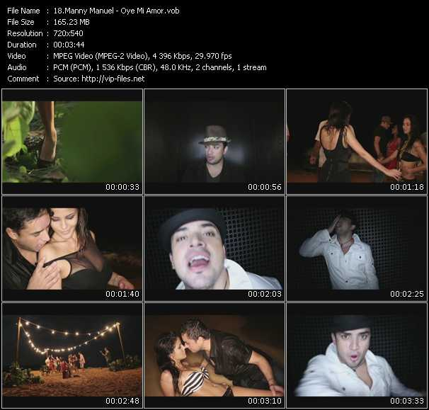 Manny Manuel video screenshot