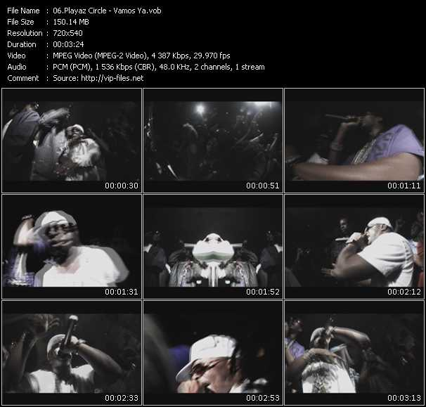 Playaz Circle video screenshot