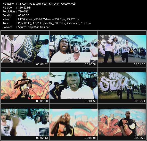 Cut Throat Logic Feat. Krs-One video screenshot