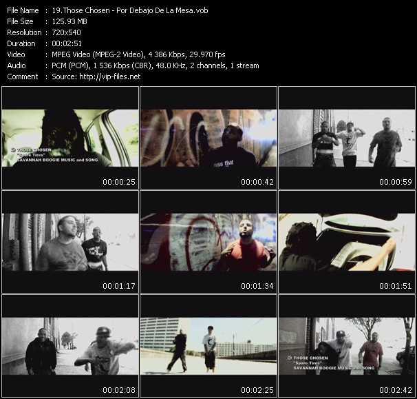 Those Chosen video screenshot