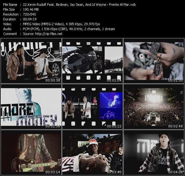 Kevin Rudolf Feat. Birdman, Jay Sean, And Lil' Wayne video screenshot