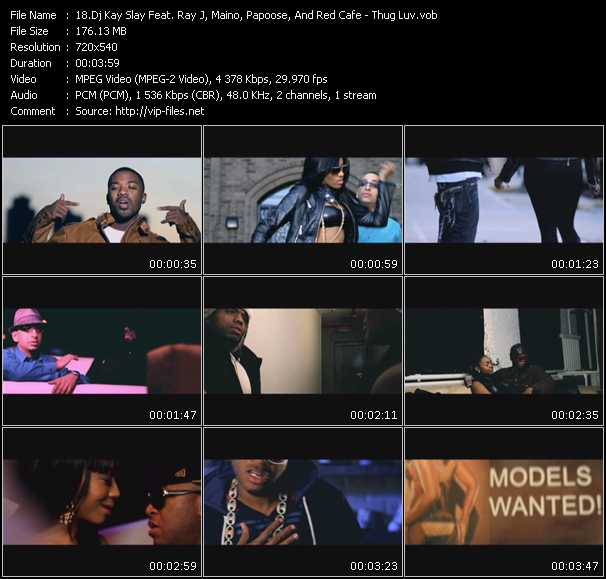 Dj Kay Slay (Dj Kayslay) Feat. Ray J, Maino, Papoose, And Red Cafe video screenshot