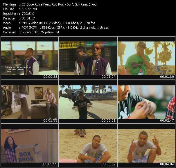 Dude Royal Feat. Rob Roy video screenshot