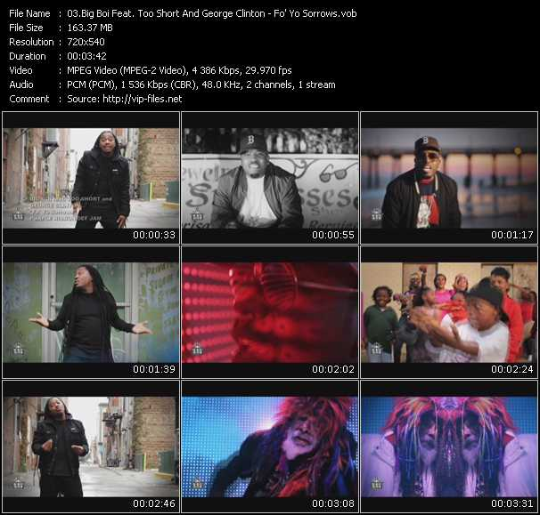 Big Boi Feat. Too Short And George Clinton video screenshot