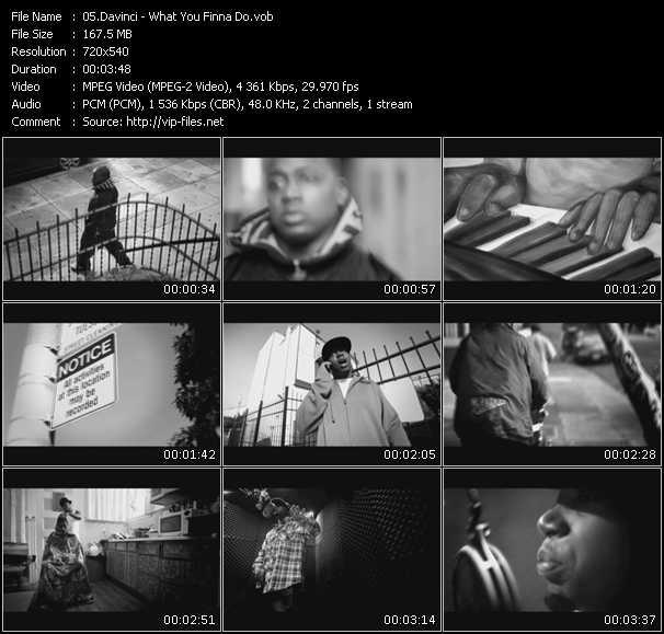 Davinci video screenshot